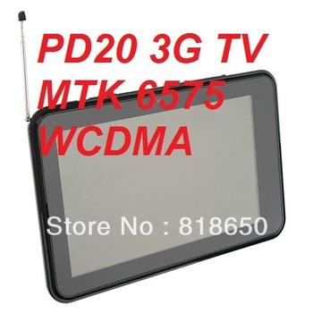 7inch phone call tablet pc Freelander PD20 3G Tv G+G Screen MTK6575 Cortex A9 Dual Camera 2.0MP GPS Bluetooth