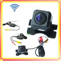 Adjustable Universal mini Car rear camera Night Vision Color Car  View Reversing+2.4G wireless video transmitter and receiver