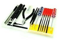 U-STAR Hand Tool Kit UA-90073A, 14 in 1, High Quality Hobby Tools