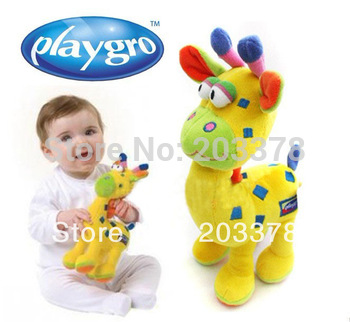 Baby Plush Toy,Playgro Baby Giraffe 9 Free Shipping 5pcs/lot