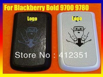 Black/White Original back battery case cover housing Door For BlackBerry Bold 9700 9780 Free Shipping