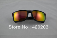 Free shipping Women man Frame choose hot HOLBROOK sunglasses Sports Sunglasses black red  lens with the case cloth kk
