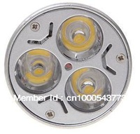 Hot Sale 3W GU10  Warm/Cool White 3 LEDs Spot Light Bulbs (AC 85-265V)