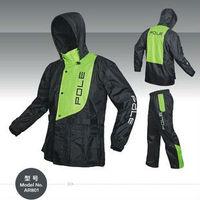 Free shippingMotorcycle motorbike rain coats combinations POLE Micro fiber Water proof raincoats