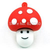 Free shipping 16gb mushroom usb flash drive cartoon usb flash drive fashion personality girlfriend gifts