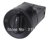 Free shipping Auto Head light Switch /1C0 941 531C for VW NewBeetle,Bora,Jetta,Passat 12v