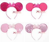 Free shipping COSPLAY item,kid  birthday party supplies ,Mickey mouse ear headband  animal ear headand
