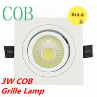 3W LED COB LIGHT Grille Lamp ceiling lamp