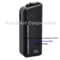 2 IN 1,HOT SELL,2x AA Powered Emergency Charger + USB Cable for HTC One X / S720e / One S / One V - Black