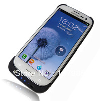 3200mAh External Backup Battery Charger Case for Samsung Galaxy SIII S3 i9300 with stand 1 pcs free shipping