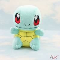 Pokemon Squirtle Plush Doll Toys Figure 6inches Stuffed Anime Manga Gift