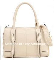 the star the same cute TASSEL 2013 fashion NEW HOT one shoulder women's handbag check female bags FREE SHIPPING TOTE BAG