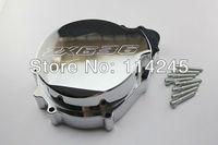 Chrome Motorcycle Engine Stator Cover For Kawasaki Ninja ZX6R 636 2003 2004