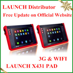 [LAUNCH Authorized] 100% Original Universal Auto Scanner Launch X431 PAD 3G WIFI Free Update on Launch Website(China (Mainland))