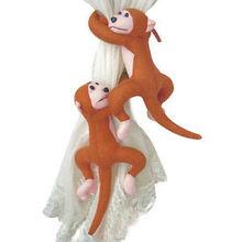 Macacos envio gratuito de famílias novidade criativa bonito dos desenhos animados cortina cortina fivela fivela (1set = 2pcs/pack)(China (Mainland))