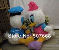 Wholesale New Arrival 10'' High Quality Donald Duck Plush Soft Doll Toy 100/Lot Valentine's Day Gift EMS Free Shipping