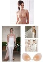 Self Adhesive Silicone Nude Strapless free bra silicone bra Free Shipping