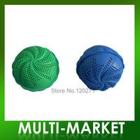 Free shipping Wholesale eco washing and drying ball Two use Magic laundry balls