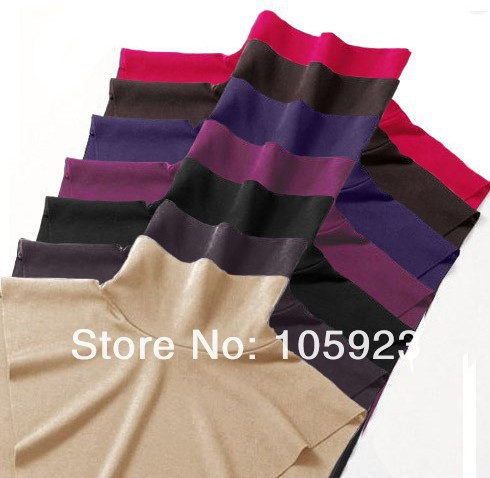 cotton neck cover islamic modest clothing insert neck insert abaya jilbab neck covers 15pcs/lot free ship 7 colors(Hong Kong)