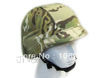 2 IN 1 MILITARY SWAT CQB KEVLAR AIRSOFT PAINTBALL REPLICA M88 HELMET + CP CAMO HELMET COVER