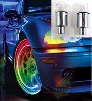 Colorful alloy intelligent dual wheels balefire wheel decoration tire light modified car lamp tyre light