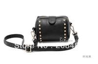 Small pu leather rivet bag mobile phone camera bag ladies shoulder handbag women satchel casual bag messenger bag