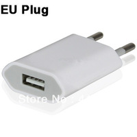 EU Plug USB Charger for iPhone 5 ,for iPhone 4 & 4S,for iPhone 3GS/3G, iPod Touch