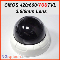 Free shipping Surveillance mini Dome CCTV Camera ,Home Security Camera 420/600/700tvl optional