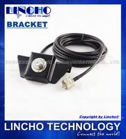 black car antenna mount , trunk lid, hatchback mount bracket SO239 with 5 meter RG58 cable pl159 for Mobile Radio