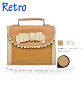 2013 The retro bow of women handbags, messenger bag handbag women's envelope bag