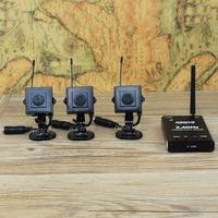 Digital wireless surveillance cameras: video + playback +audio+ Motion Detection = set to solve   wireless surveillance cameras