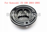 motorcycle parts Black Keyless Fuel Tank Gas Cap For Kawasaki ZX-10R 2004 2005