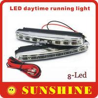 FREESHIPPING  led daytime running light wholesale LED DRL DN-77 day time running light