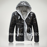 Fashionable men women casual wadded jacket outwear men winter coat freeshipping