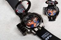 Detective Conan Watch Stainless Quartz Rubber Wrist Band Red Laser Children Watch Gift