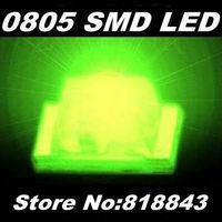 3000pcs/ reel New 0805 Ultra Bright Jade Green SMD LED