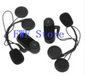 2pcs/pack 1000m motorcycle helmet headset bluetooth with intercom free shipping