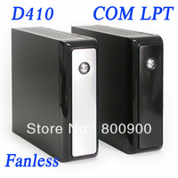 new arrival fanless barebone mini pc box thin client barebone with COM LPT 4 USB