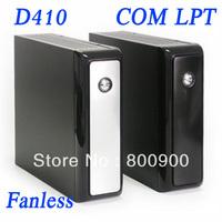 new arrival fanless barebone mini pc box thin client barebone with COM LPT 4 USB