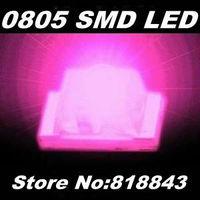 3000pcs/ reel New 0805 Ultra Bright Pink SMD LED