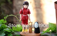 Free SHiping 2013 Hayao Miyazaki Series Spirited Away Children toy doll dolls cartoon model of creative birthday gift