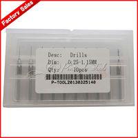10pcs New 0.25-1.15mm Drill Bits/Engraving Drill Bit/Mini Drill Bit Set/Free Shipping
