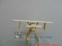 3D jigsaw puzzle brain teaser 3d DIY model assembling toy Heninkel