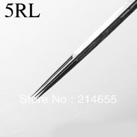 Professional 50 Pieces 5RL Tattoo Round Liner Needles High Quality Sterile Disposable Tattoo Needles