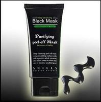 Free shipping SHILLS Black MASK Deep Cleansing/ purifying peel-off mask / Clean Blackhead facial mask 50ML