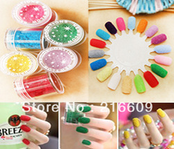 Beauty!!83pcs=83Colors/Lot Jar Packing 83 Different Colors 3D Nail Art Decoration Flocking Powder Nails Velvet Art Free shipping(China (Mainland))