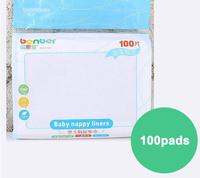 disposable nappy liner,biodegradable diaper liner,cotton nappy linier  diaper liner 12packs each lot(100pcs each pack)