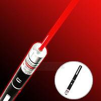 1pcs Wholesale Powerful 650nm 5mw Light Beam Red Laser Pointer Pen
