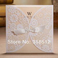New Arrivel ~ Elegant Laser Cut Wedding Invites Card ,Wedding Favors and Gifts  ,Free Wording Printing