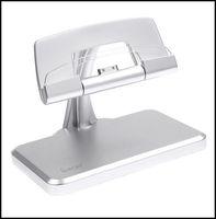 Free Shipping iPega Metal Silver Tablet PC Desktop Charging Stand Holder Docking Station Charger Bracket  For iPad 2 3